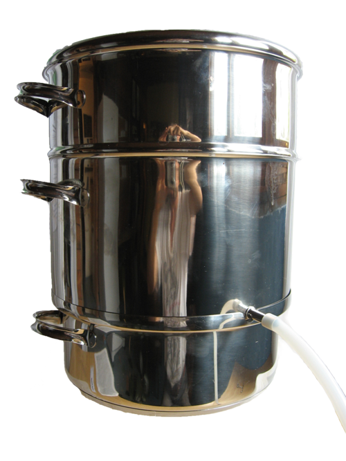 Steam juicer