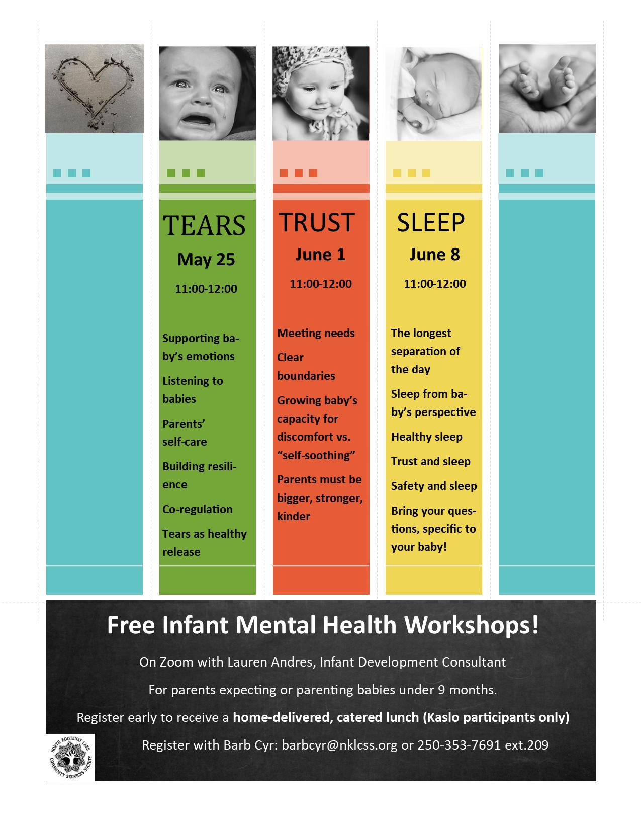 Infant Mental Health poster