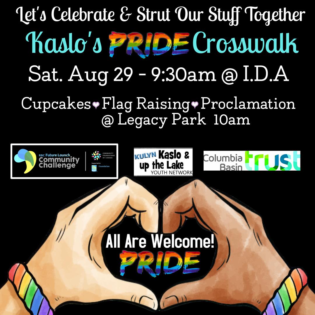Pride Crosswalk Event Poster 2020